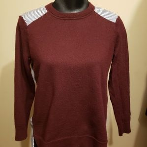 J.Crew wool and Cotton combo sweater size S